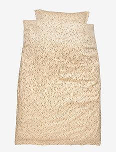 Bed Linen Baby - pościel - tapioca, aop trio dotties