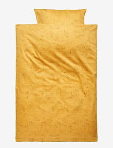 Bed Linen Baby - FALL LEAF, AOP MINI SPLASH YELLOW