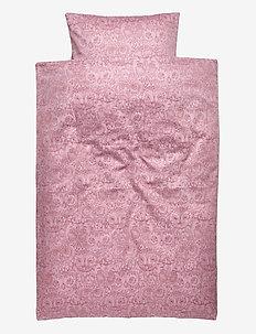 Bed Linen Baby - pościel - mauve shadows, aop owl lavender