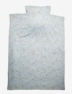Bed Linen Junior - pościel - ocean grey, aop mini splash blue