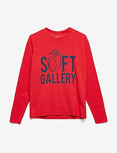 Belami LS T-Shirt - MARS RED, SOFT HAND