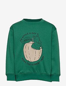 Baptiste Sweatshirt - VERDANT GREEN, DONKEYFRUIT
