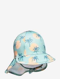 Alex Sun Hat - uv caps - granite green, aop tropical