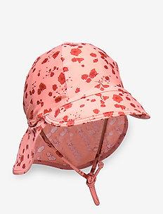 Alex Sun Hat - kapelusz przeciwsłoneczny - rose dawn, aop flowery s