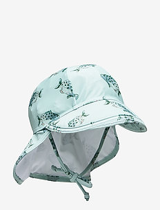 Alex Sun Hat - jadeite, aop spotfish