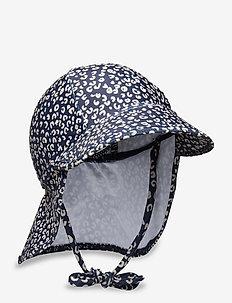 Alex Sun Hat - kapelusz przeciwsłoneczny - dress blue, aop leospot