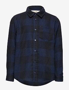 Bentley Shirt - DRESS BLUES OVERDYE
