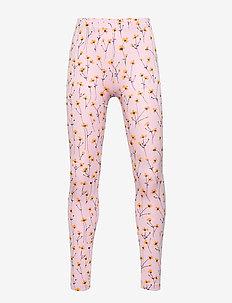 Paula Leggings - leggings - dawn pink, aop buttercup s