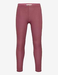 Paula Leggings - leggings - oxblood red