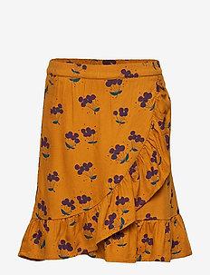 Dakota Skirt - INCA GOLD, AOP BERRIES SMALL