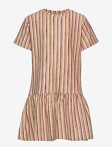 Doris Dress - jojoba, aop fringe