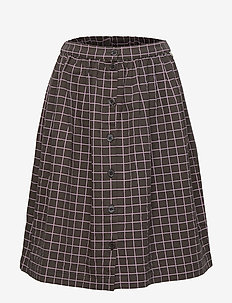 Dixie Skirt - PEAT, AOP LATTICE