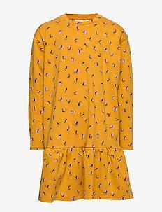 Ezy Dress - INCA GOLD, AOP FLOWERBEE SMALL
