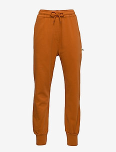 Wesley Pants - sweatpants - pumpkin spice, mini owl emb.