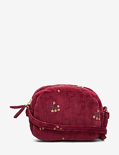 Mini Quilt Bag - totes & small bags - tawny port, aop winterberry