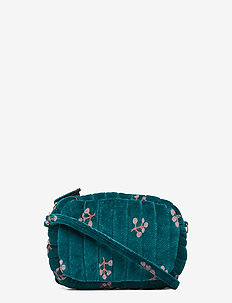 Mini Quilt Bag - DEEP TEAL, AOP WINTERBERRY