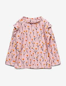 Baby Fee Sun Shirt - uv tops - dawn pink, aop buttercup s