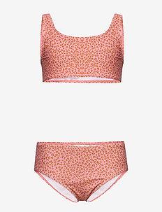 Faunia Bikini - bikinier - rose cloud, aop leospot