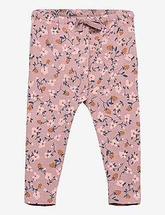 Faura Pants - pantalons - woodrose, aop flowerberry