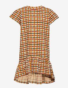 Fenella Dress - WINTER WHEAT, AOP CHECK