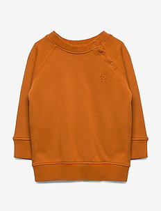 Alexi Sweatshirt - sweatshirts - pumpkin spice, mini owl