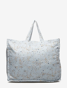 Weekend Bag - torby dziecięce - ocean grey, aop mini splash blue