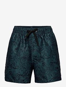 Dandy Swim Pants - badehosen - orion blue, aop owl