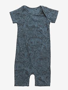 Owen Body - short-sleeved - orion blue, aop owl