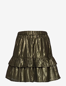 Fern Skirt - GOLD LUREX