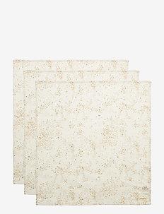 Muslin - ręczniki i szmatki - fluffy sky, aop mini splash cream