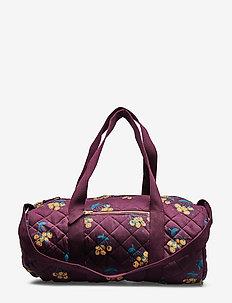 Big Quilted Bag - WINETASTING, AOP BERRIES