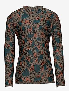 Astin Sun Shirt - FOSSIL, AOP CAMOLEO SWIM