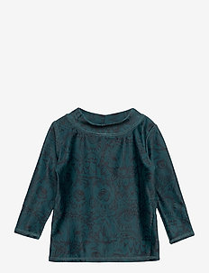 Baby Astin Sun Shirt - uv tops - orion blue, aop owl