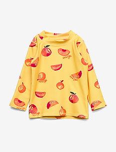 Baby Astin Sun Shirt - JOJOBA, AOP ORANGES