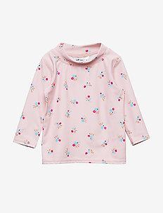 Baby Astin Sun Shirt - CHINTZ ROSE, AOP COCKATOO SWIM