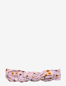 Bow Hairband - dawn pink, aop buttercup s
