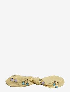 Bow Hairband - FRENCH VANILLA, AOP CHERISH