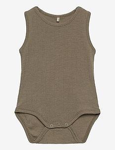 Grady Body - short-sleeved - dusky green