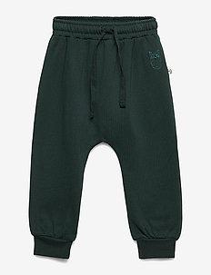 Meo Pants - sweatpants - pine grove, mini owl