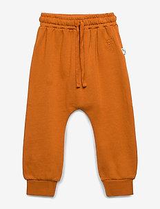 Meo Pants - sweatpants - pumpkin spice, mini owl