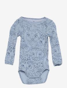 SGIbob Bob wool Body - długie rękawy - ashley blue