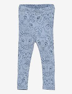 SGIbob Baby Paula wool Leggings - leggings - ashley blue