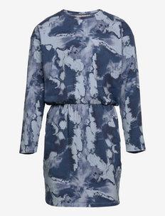 SGIrim Vigdis Dress - kleider - dusty blue