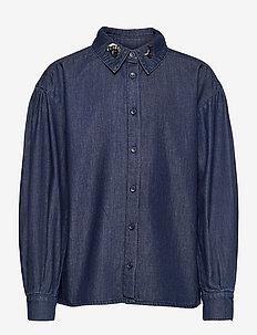 SGIona shirt - skjorter - dark denim