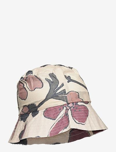 Camden Hat - huer & kasketter - powder puff, aop floral