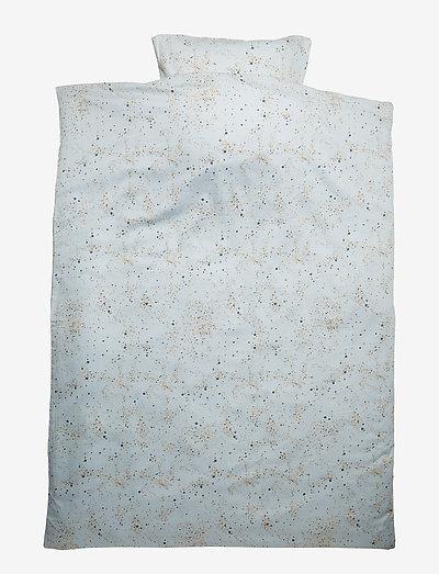 Bed Linen Junior - komplety pościeli - ocean grey, aop mini splash blue