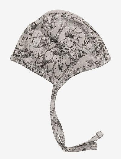 SGHattie - hatte og handsker - drizzle, aop owl