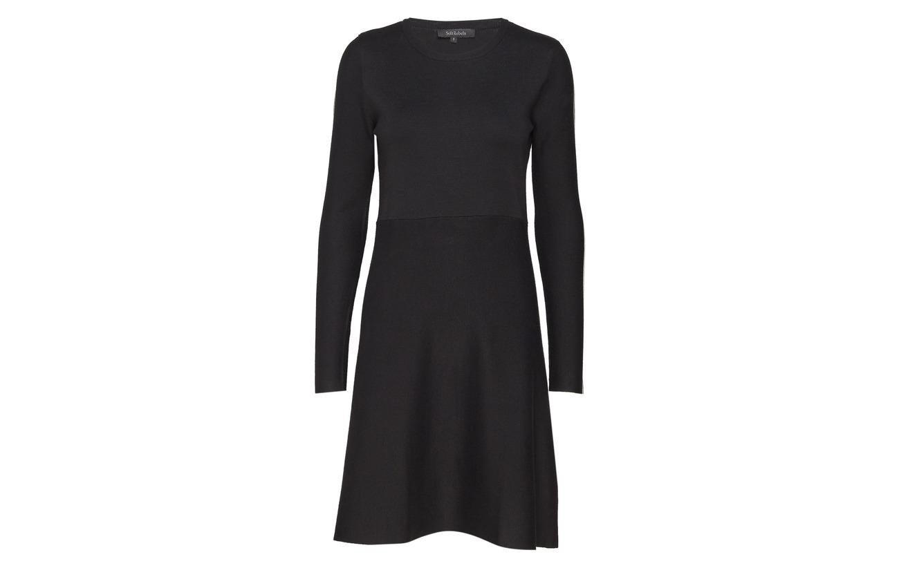 Black Dress 80 Équipement 001 Run Rebels Nylon 20 Soft Viscose FTqAfv