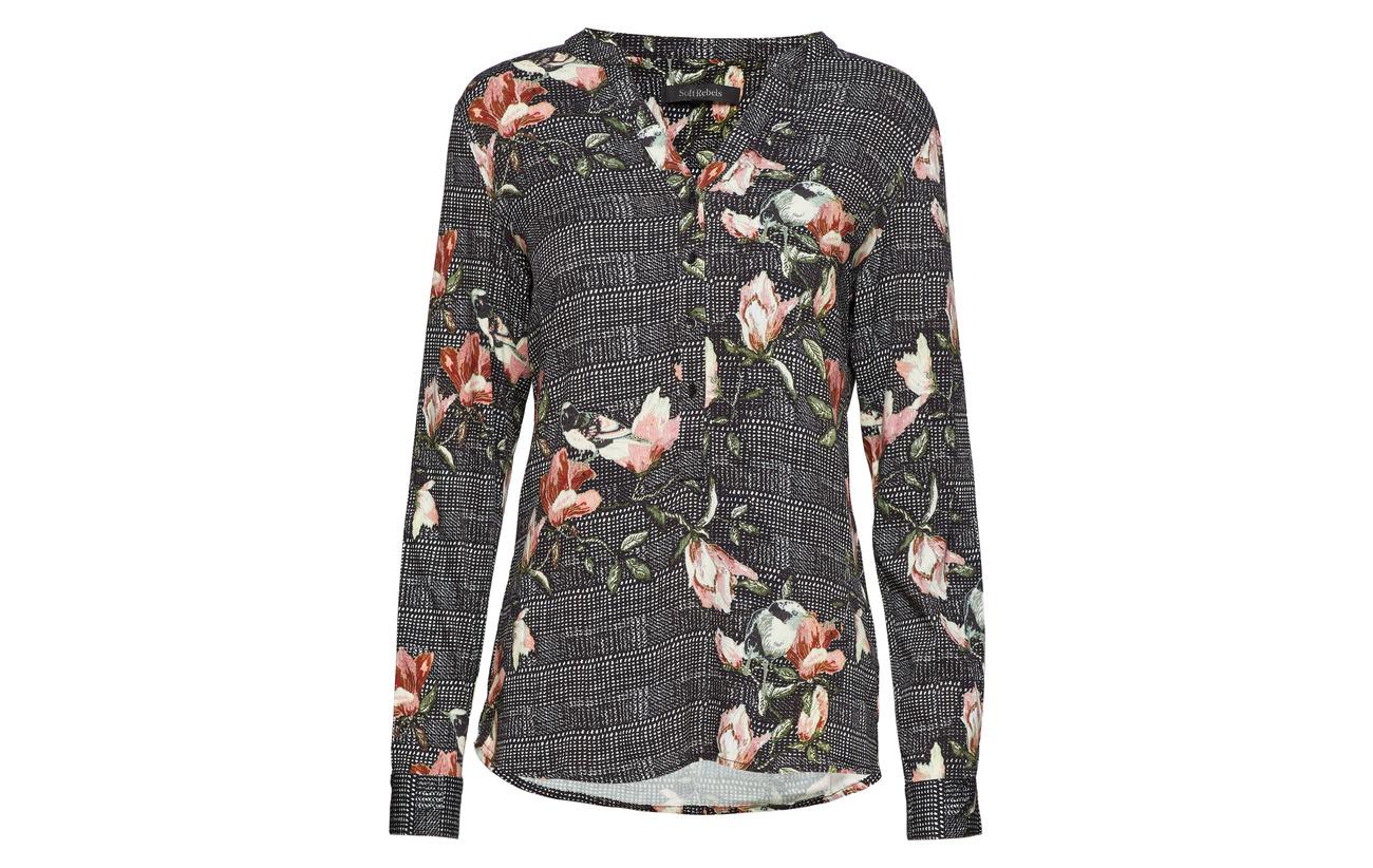 3 Shirt Print Viscose Elastane Rebels Soft 97 Mui 791 qR7RB0