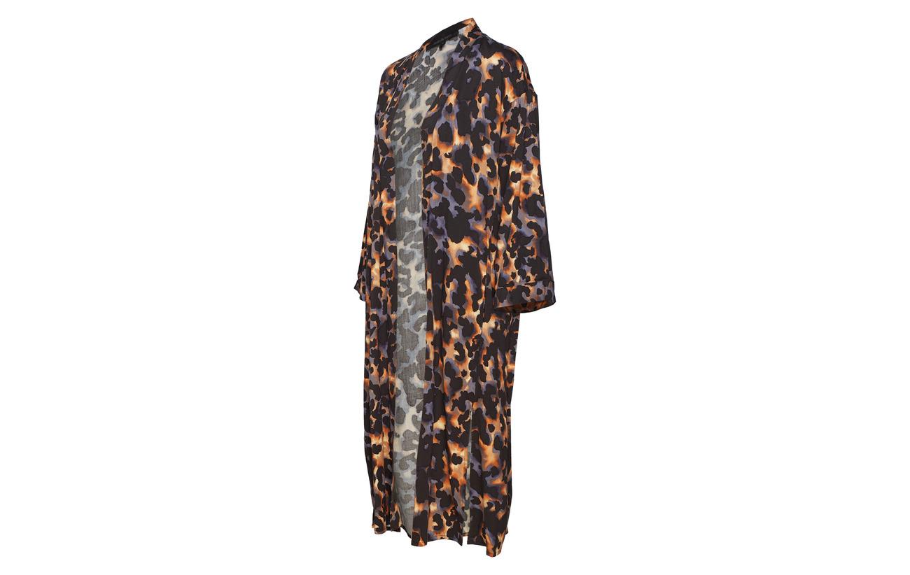 Soft Print Elastane 3 Mich Rebels Équipement Kimono 97 Viscose rfarqRtw